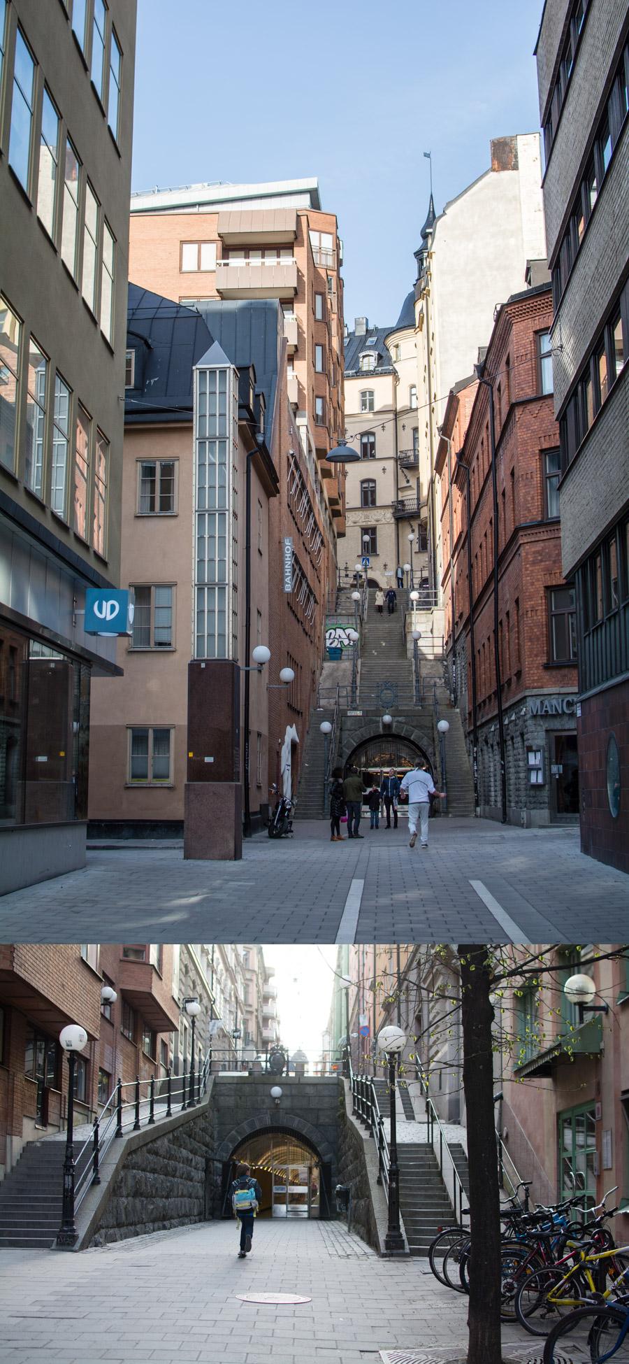 Stockholm's Brunkeberg Tunnel